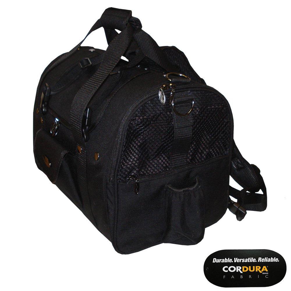 da0c39dca7a Amazon.com : Celltei Backpack-o-Pet - Cordura(R) Black - Medium Size : Pet  Carrier Backpacks : Pet Supplies