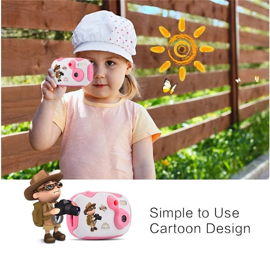 Sdoveb Children Sport Camera 1.7 Inch Portable Kids Camera Video Recorder DV DVR Cam Camcorder Camera (Pink) by Sdoveb (Image #5)