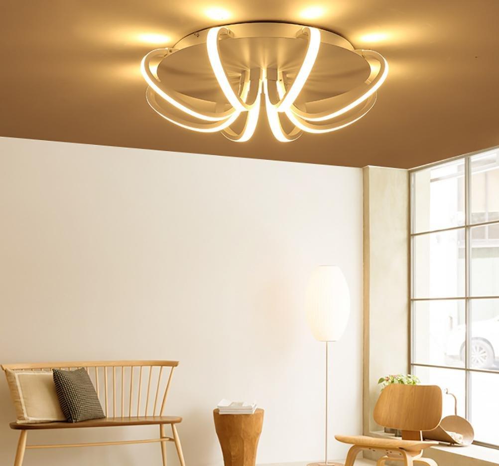 White High Power LED Ceiling chandelier For Living Room Bedroom Home Modern Led Chandelier Lamp Fixture , warm light