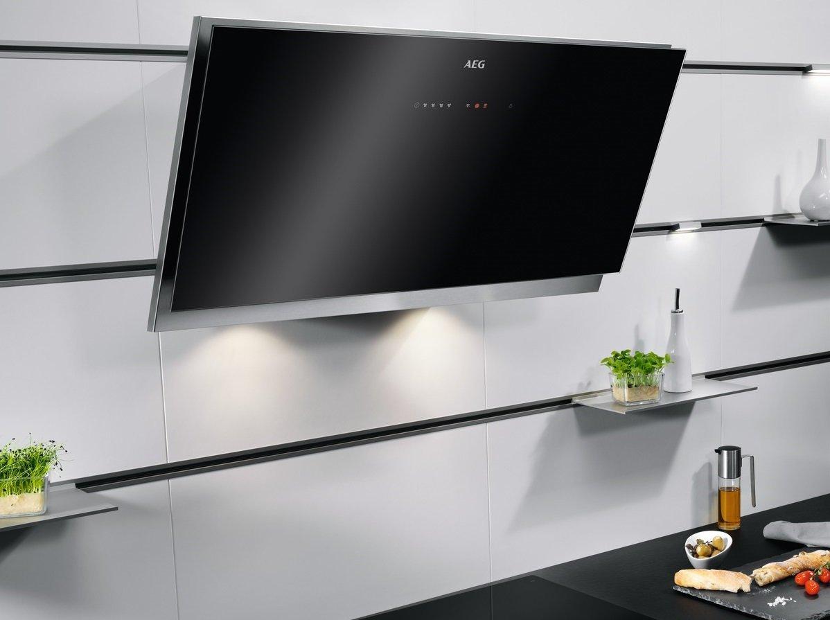 aeg induktionskochfeld mit dunstabzug test aeg dunstabzugshaube intelligente steuerung per hob. Black Bedroom Furniture Sets. Home Design Ideas