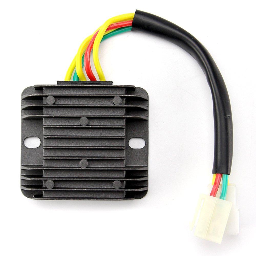 Oumurs 12V Voltage Regulator Rectifier for Hyosung GT650R GT650 Comet GV650 ST7 GT650S GV GT250R 250 by Oumurs