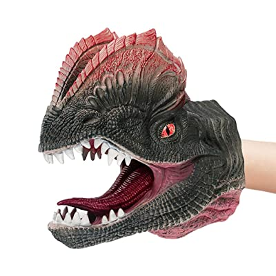 Fdrone Aminal Hand Puppet Soft Kids Toy Gift Great Cake Decoration Topper Jaws Children (F): Clothing