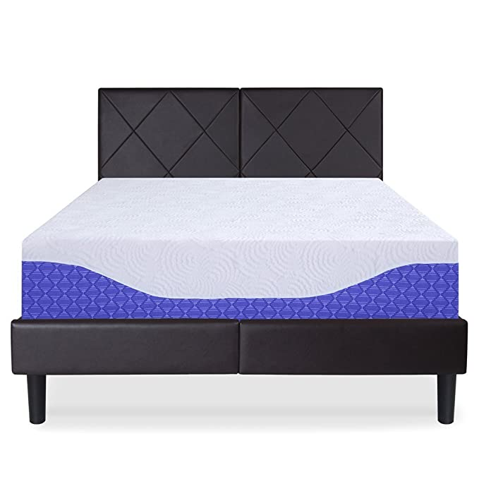 Amazon.com: PrimaSleep 10 Inch Multi-Layered I-Gel Infused Memory Foam Mattress (Full, Cobalt Blue): Kitchen & Dining