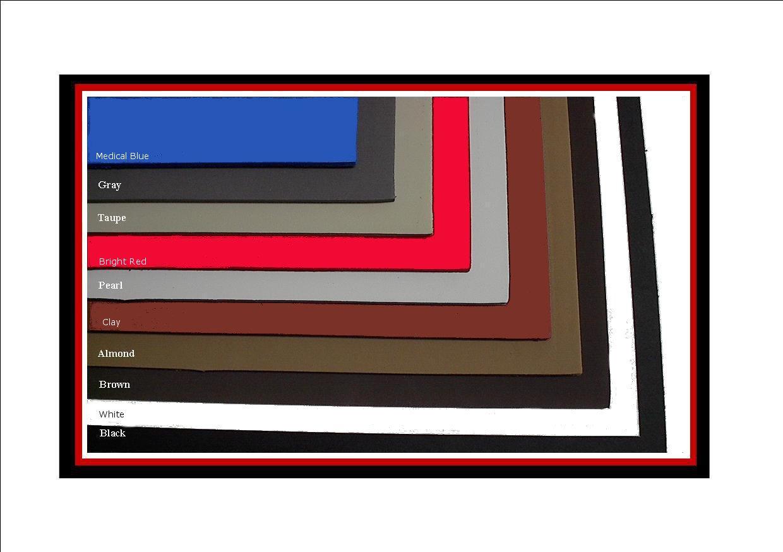 SoleTech Cloud 35-40 Durometer Crepe Soling Sheet 18x36 Black 48 Iron