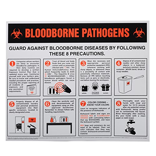Bloodborne Pathogens Information Wall (Bloodborne Pathogens Poster)