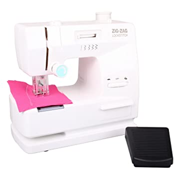 speel Goed H64/3899 – Niños Máquina de coser con funciones correcta y accesorios funciona
