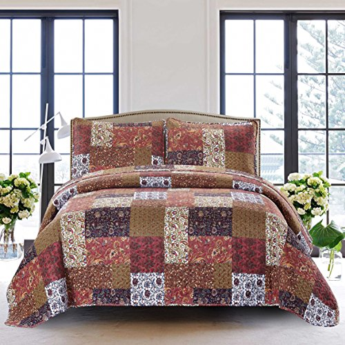 queen quilt and shams - 5
