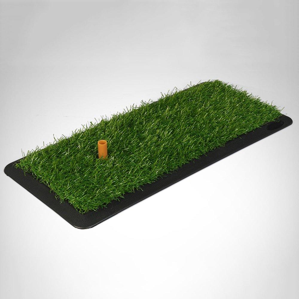 ゴルフマットPHTW HTZラバーヒットパッド屋内練習マット超スリップポータブルファミリースイングボールパッド実用的便利な収納A +   B07GF45CY8