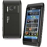 Nokia N8 - Movistar Freien Handy (Touchscreen 3,5 640 x 360, 12 MP Kamera, 16 GB Kapazität, S.O. Symbian 3) schwarz