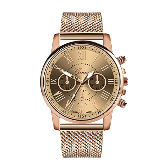DAYLIN Relojes Hombre Mujer de Marca Oferta Reloj Pulsera de Señora Cuarzo Negocios Reloj Deportivo Analogico Mecanico Automatico Correa de Aleacion Wrist ...
