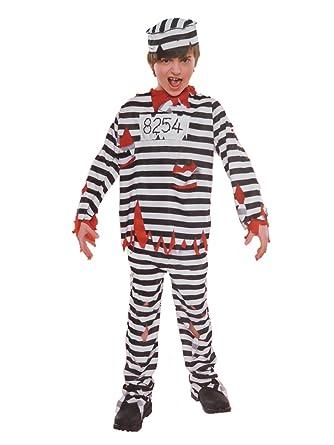 Boys Zombie Prisoner Halloween Costume Top Pants u0026 Hat  sc 1 st  Amazon.com & Amazon.com: Boys Zombie Prisoner Halloween Costume Top Pants u0026 Hat ...