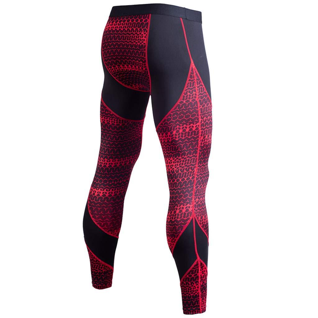Success Hommes Pantalon de Sport Pantalon de Yoga Pantalon de Course Pantalon Stretch imprimé Pantalon Respirant à séchage Rapide Cyclisme Thermique en Laine Collants Sports de Plein air
