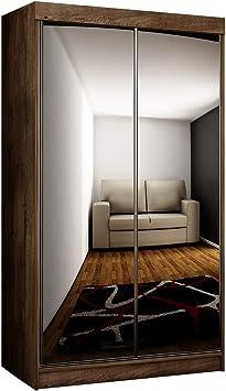 Mirjan24 Toplo 100 I - Armario con 2 Espejos, 100 x 200 x 62 cm, Armario de vestíbulo, Armario de Puertas correderas: Amazon.es: Juguetes y juegos