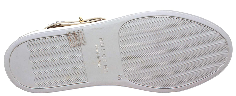 BUSCEMI Scarpe Uomo Sneakers Panna White Roccia Python Gold 100MM Handmade  Italy  Amazon.it  Scarpe e borse 8b0e092b666