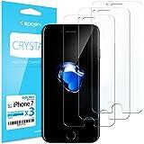 Spigen 3Pezzi Pellicola Protettiva iPhone 8 / 7, proteggischermo trasparente, Pellicola iPhone 8 / 7, protezione per schermo (042FL20973)