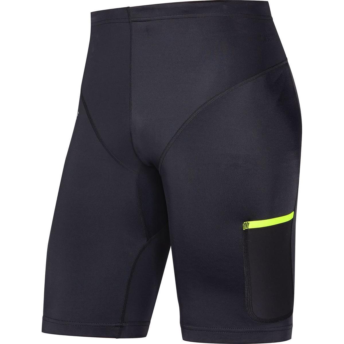 GORE Wear, Hombre, Mallas cortas transpirables para correr, GORE R7 Short Tights, 100103