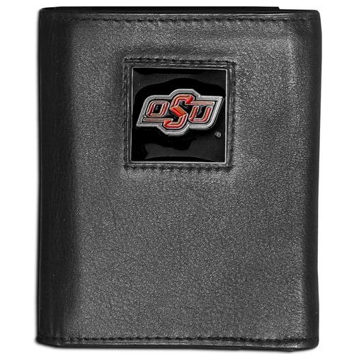NCAA Oklahoma State Cowboys Leather Tri-Fold Wallet