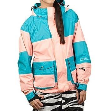 Nikita LEYSIN Chaqueta de Snowboard, Mujer, Verde, XS: Amazon.es: Deportes y aire libre