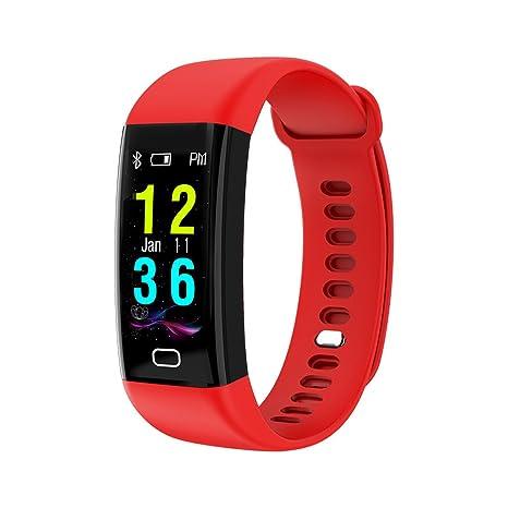 Cebbay Pulsera de Actividad Pulsera Inteligente Pantalla Color Reloj Impermeable IP68 con Monitor de Ritmo Cardíaco