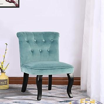Fanilife Accent Stühle Set Aus 2 Modernen Stil Samt Button Rücken  Gepolstert Tub Stuhl Sofa Esszimmer