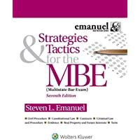 Strategies & Tactics for the MBE (Bar Review)