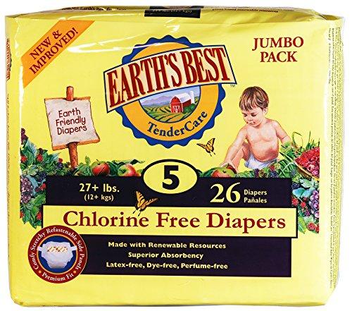 Earths Best Chlorine Diapers Packaging