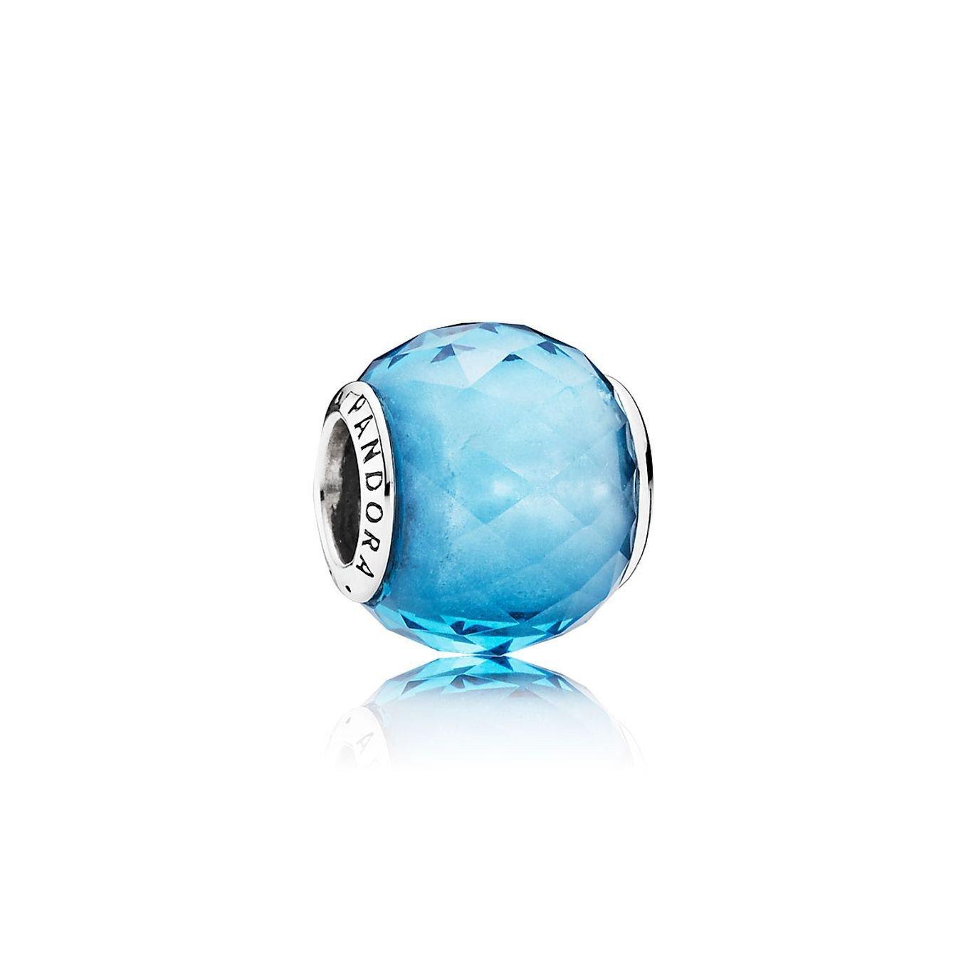 Pandora Charm 791722NBS Sterling-Silber, Kristall himm