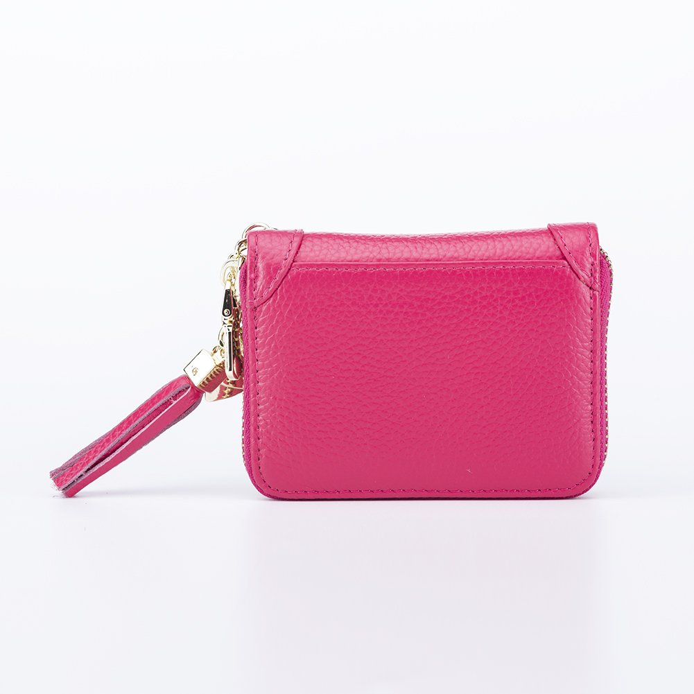 SYGY Women's Credit Card Holder purse (Red) by SYGY (Image #3)