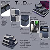 TripDock Various Packing Cubes 6 Set Lightweight