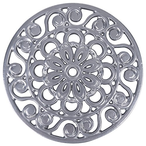 Trademark Innovations Decorative Cast Iron Metal Trivets (Set of 3), Multicolor by Trademark Innovations (Image #3)