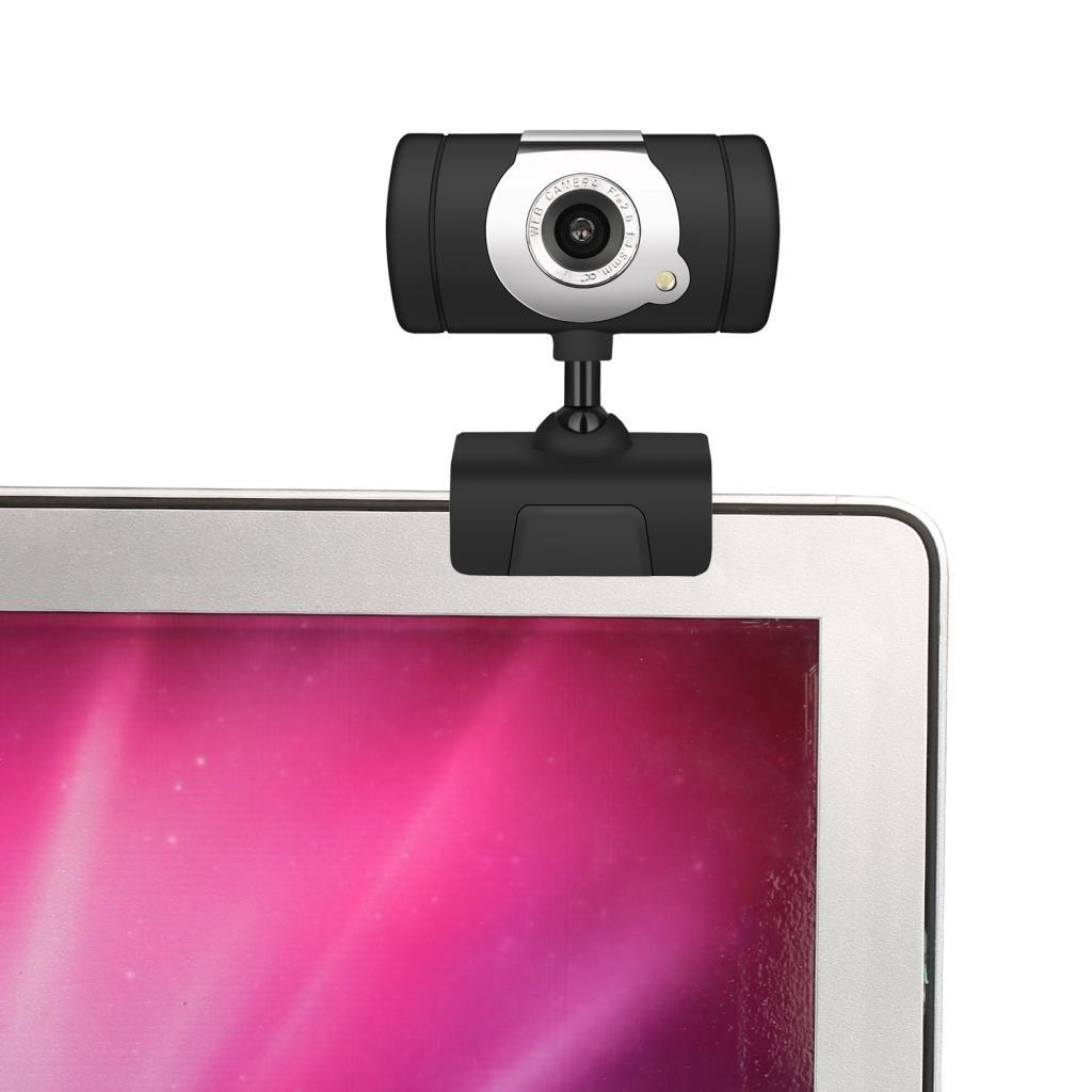 Sharplace Webcam 480p HD Compatible avec Windows 10//8//7//XP//Vista AOL ICQ,Youtube,Yahoo A847 Web USB Cam/éra avec Microphone Anti-Bruit pour Skype,MSN