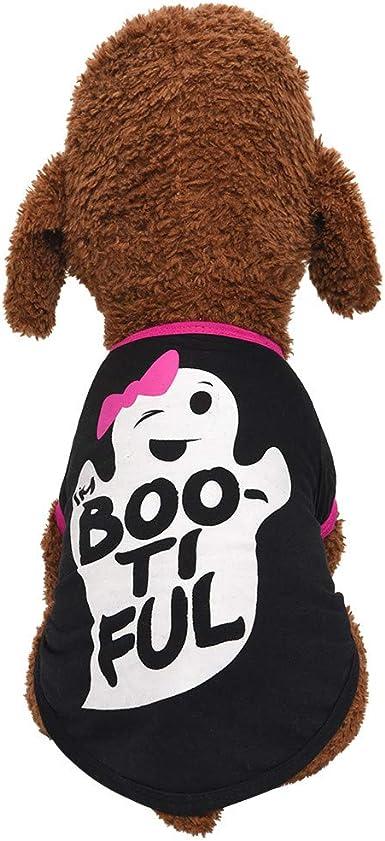 Cute Puppy T Shirt Dog Pet Clothes Summer Printed Apparel Soft Costumes Howstar Pet Shirt