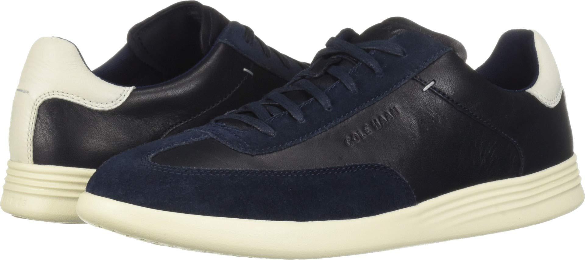 Cole Haan Men's Grand Crosscourt Turf Sneaker, Navy Ink Leather 10.5 M US