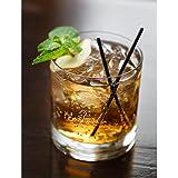 James Scott Double Old Fashioned Whiskey Glasses 11 OZ, Set of 2