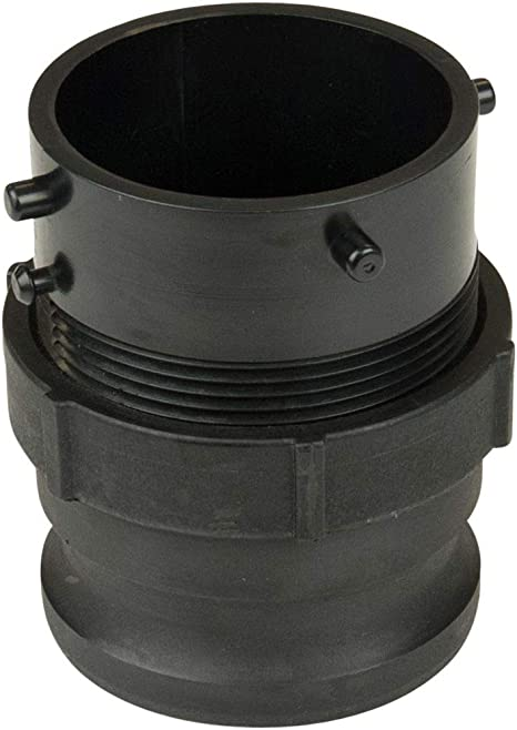 Lippert Components 360785 Waste Master Rv Sewer Hose Male Bayonet Fitting Converter