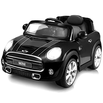 Mini Cooper Bmw >> Costzon Ride On Car Licensed Bmw Mini Cooper Electric Car 12v Battery Powered Kids Vehicle With Manual Parental Remote Control Modes Mp3 Port