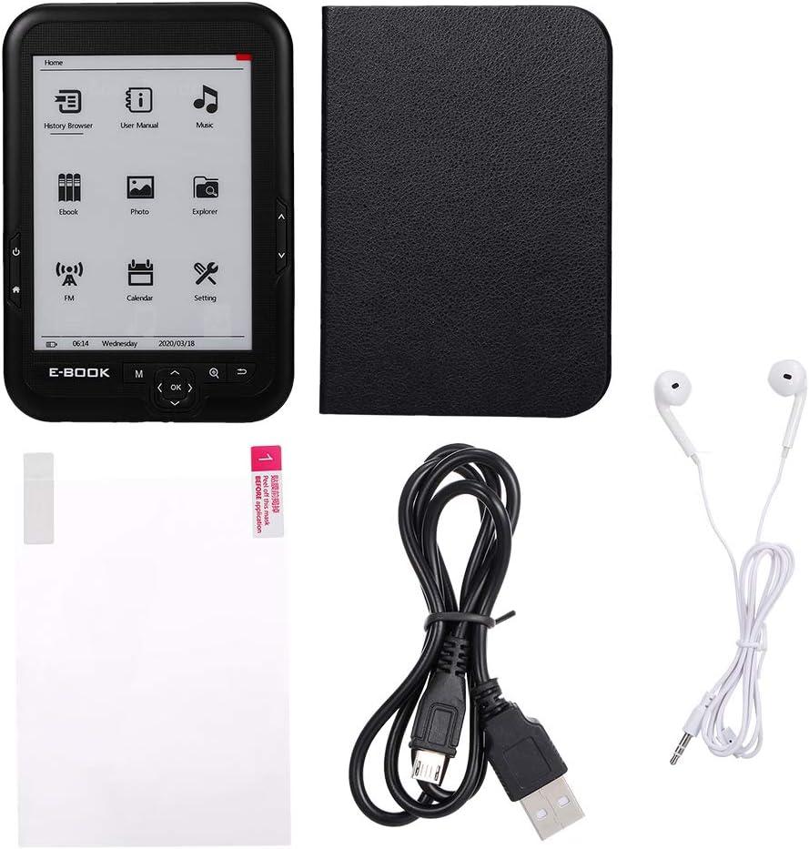 Bk-6006 Portable E-Book Reader 16Gb E-Ink 6Inch Multifunction E-Reader 800600 High Resolution Display Screen 300Dpi Entweg E-Book Reader