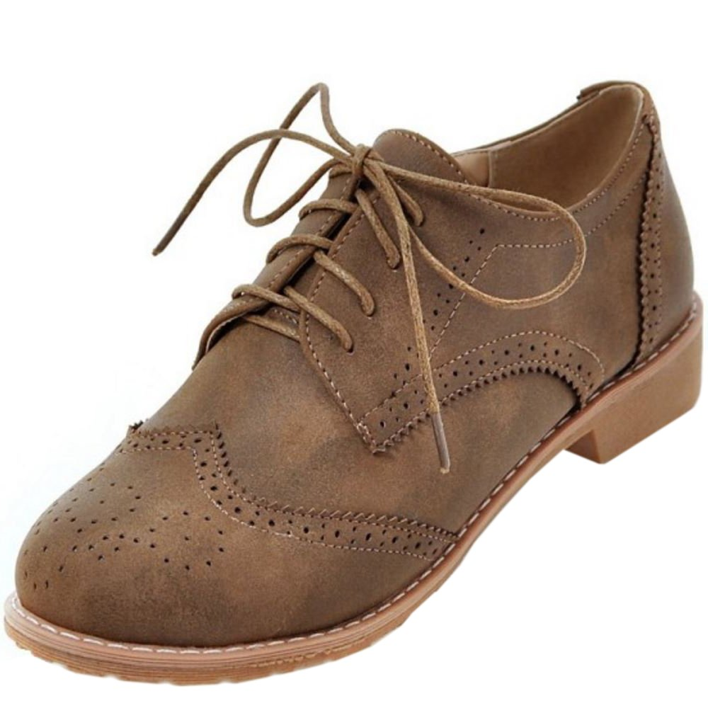 Zanpa Femmes Casual B01M342K30 Brogue Grey Femmes Chaussures Grey 73a61f1 - fast-weightloss-diet.space