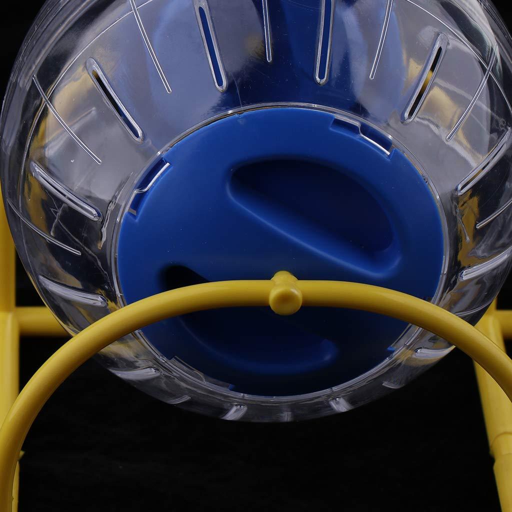 Azul B Blesiya Pelota de Ejercicio Hámster para Correr Complimentos Mascota Color Brillante Ecológico Duradero Equipos para viviendas Suministros para camas