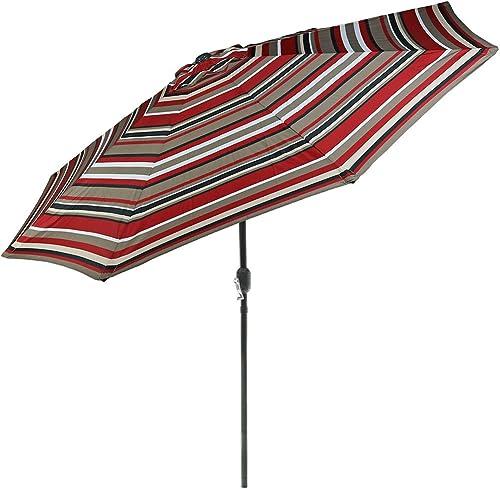 Sunnydaze 9 Foot Outdoor Patio Umbrella