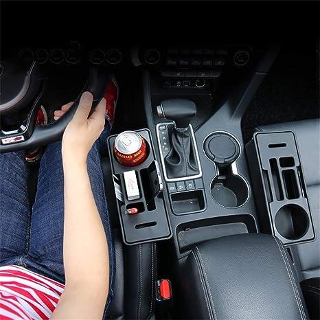 Portavasos, Consola del Coche Y Seat Gap Cup/Soporte del Teléfono Móvil Soporte Caja De Almacenamiento,1Pcs: Amazon.es: Hogar