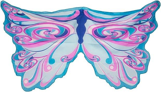 DREAMY DRESS-UPS 50571 Azul Hada Arco Iris alas Disfraz (Talla ...