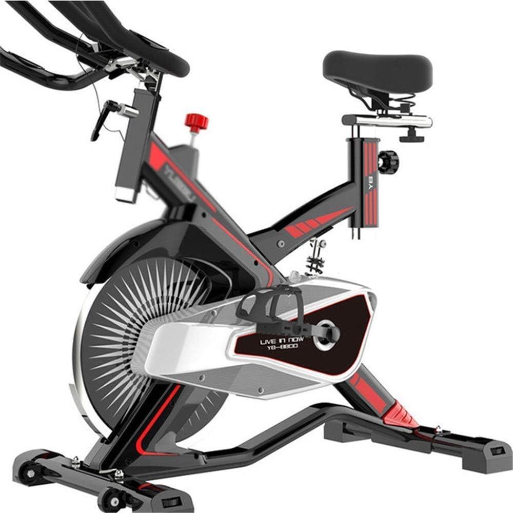 LSYOA Magnético Bicicleta Estática, Indoor Bicicleta, Inmóvil ...