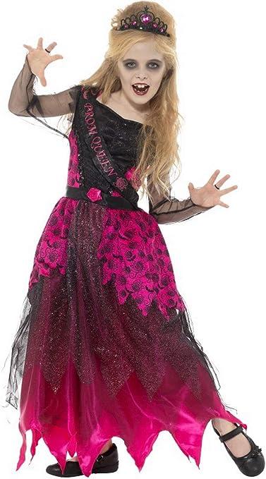 erdbeerclown – Niña Infantil Disfraz Zombie Ball Reina bakll ...