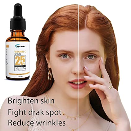 Vitamin C Serum for Face - Organic Anti Wrinkle Reducer Formula for Face