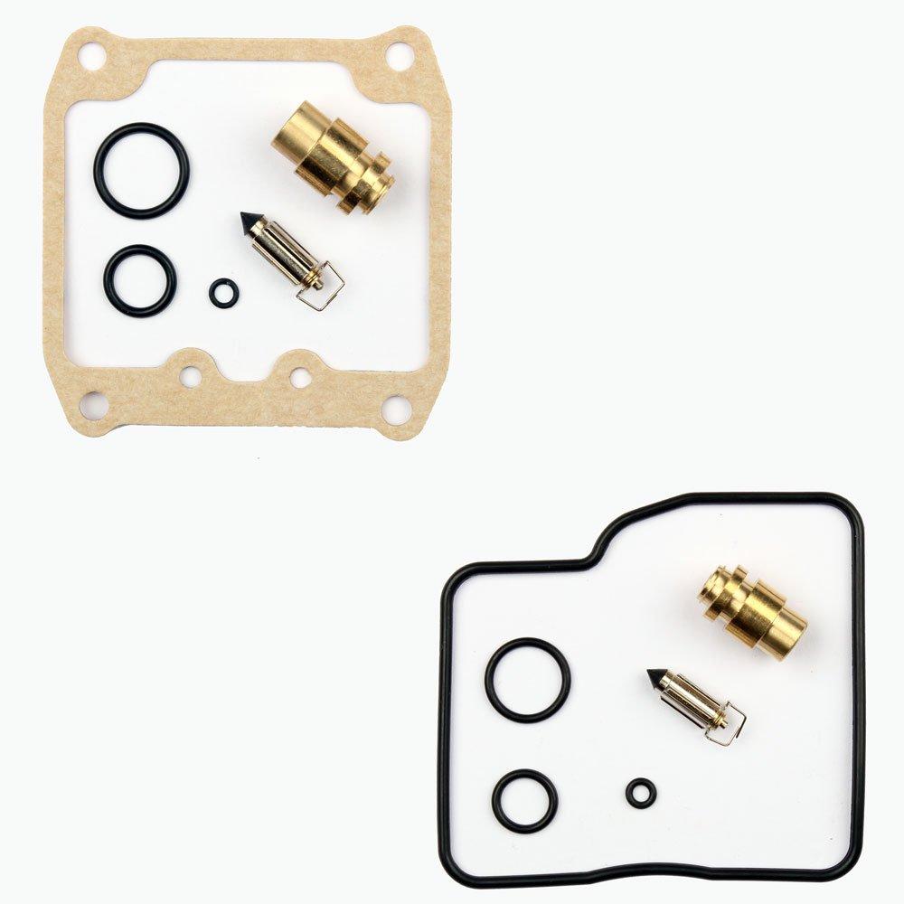 2x Kit Reparaci/ón Carburador Aguja del flotador Getor CAB-S33 CAB-S32