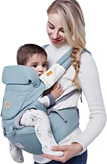 Circlefly Cinturino in vita bambino cotone multifunzionale sgabello 36kg del cuscinetto del bambino