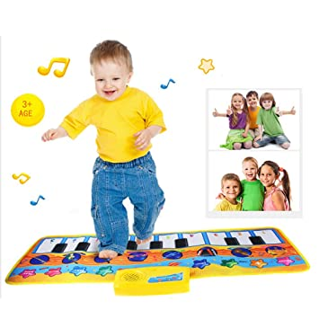 QMKJ Niños, Manta de música para bebés, bebé Animal ...
