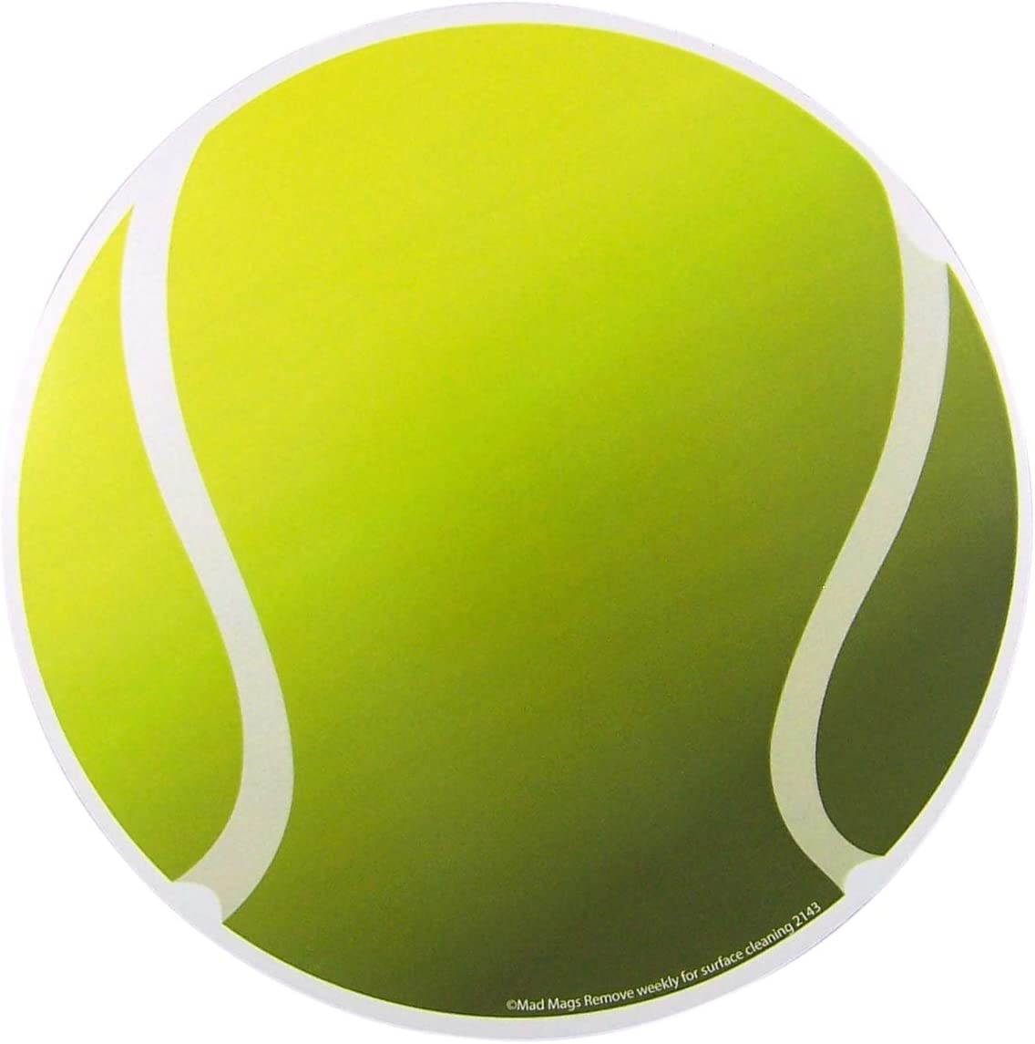 Car Magnet Sports Athlete Tennis Ball Magnetic Decal for Locker or Fridge, 5 3/4 Inches