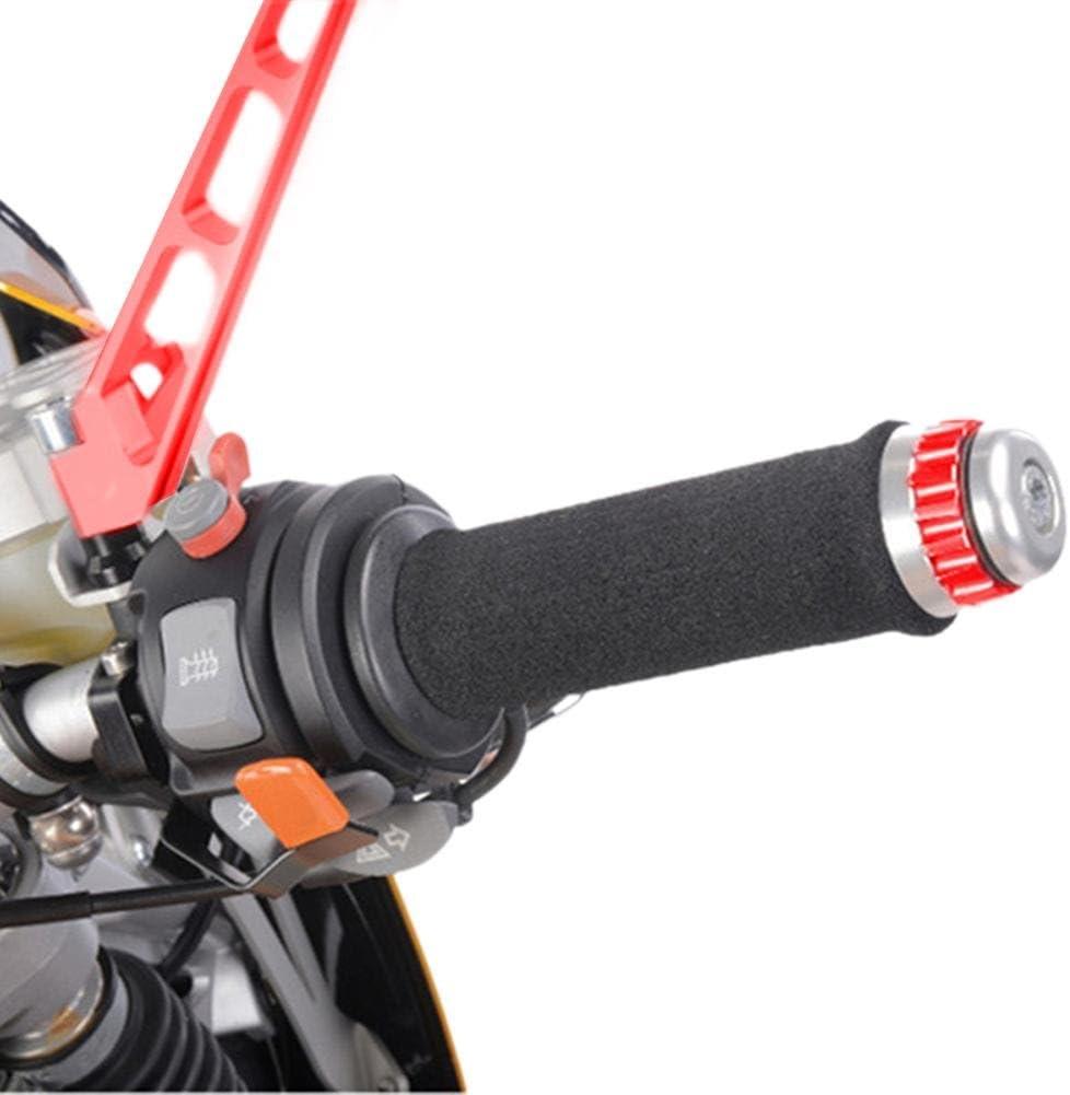 Motorradgriffe 4mm EIN Paar Motorrad-Lenkergriffabdeckung Fit F/ür Honda Harley Triumph BMW Anti-UV-Material,120 x 4mm Anwendbarer Innendurchmesser 3,17-3,68 cm